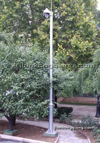 监控墙网提供生产北京摄像机立杆厂家