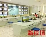 豪华2层台式电视墙