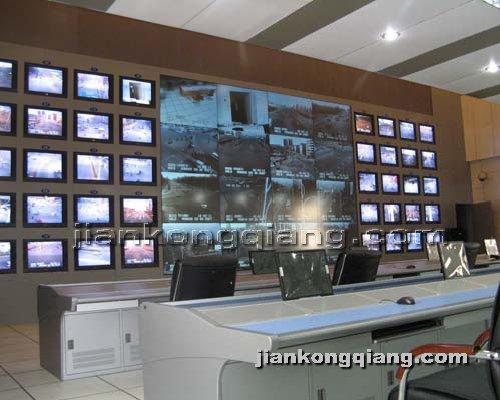 监控墙网提供生产18+1孔电视墙厂家