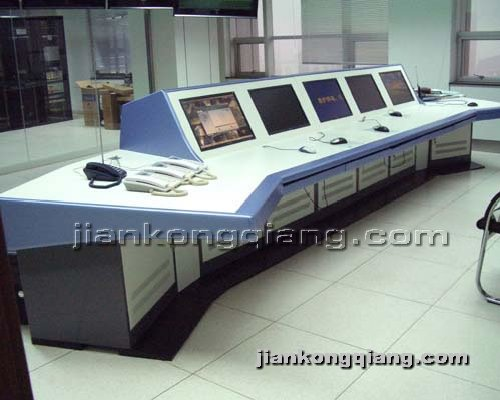 监控墙网提供生产豪华拼装操作台厂家
